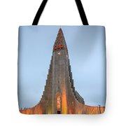 Hallgrimskirkja Church Tote Bag