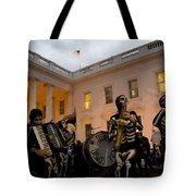Halloween At The White House Tote Bag