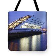Hamburg Dockland At Night Tote Bag