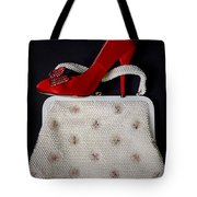 Handbag With Stiletto Tote Bag