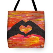 Hands Of Love Tote Bag
