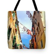 Hanging In Venice Tote Bag