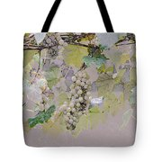 Hanging Thompson Grapes Sultana Tote Bag