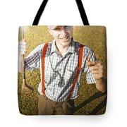 Happy The Golf Man Tote Bag