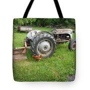 Hard Days Work Farm Tractor Tote Bag