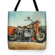 Harley Davidson Wla 1942 Tote Bag