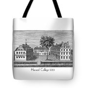 Harvard College - 1720 Tote Bag