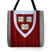 Harvard Veritas Banner Tote Bag