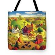 Harvest Bounty Tote Bag by Robin Moline
