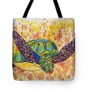 Hawaiian Sea Turtle  Tote Bag