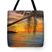 Hawaiian Sunset 11 Tote Bag