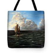 Heading For Shore Tote Bag