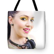 Headphones Tote Bag