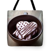 Heart Cookies Tote Bag