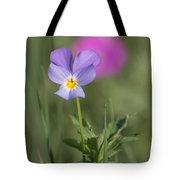 Heart's Ease Wild Viola Tote Bag