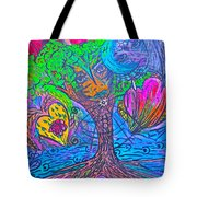 Hearts Of Nature Tote Bag