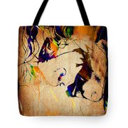Heath Ledger The Joker Collection Tote Bag