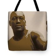 Heavyweight Boxing Champion Jack Johnson C.1910 Tote Bag