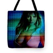 Heidi Klum Tote Bag