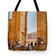 Hellenistic Gateway In Petra-jordan  Tote Bag