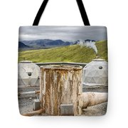 Hellisheidi Power Station Well Tote Bag