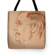 Herbert George Wells (1866-1946) Tote Bag