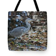 Heron On The River Tote Bag