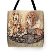 Hess'er Puppies Tote Bag