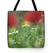 Hidden Flower Tote Bag