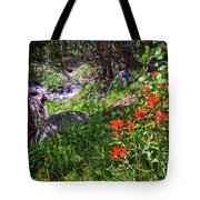 High Country Wildflowers 2 Tote Bag