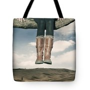 High Over The World Tote Bag