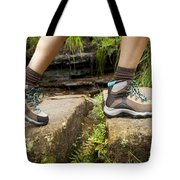Hiking Boots Tote Bag