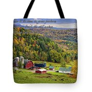 Hillside Acres Farm Tote Bag