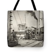 Hine Oyster Fishing, 1911 Tote Bag