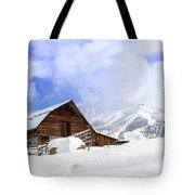 Historic Steamboat Springs Barn Tote Bag