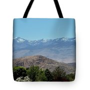 Home Is Nevada Tote Bag