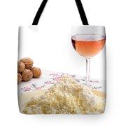 Homemade Cheese Wine And Walnuts Tote Bag