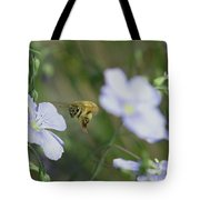 Honeybee At Work  Tote Bag