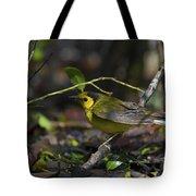 Hooded Warbler Tote Bag