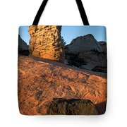 Hoodoos At Sunset Tote Bag