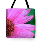 Pink Gerbera Flower Tote Bag