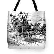 Horse-drawn Carriage Tote Bag
