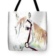 Horse Study Tote Bag