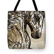 Horse Twins I Tote Bag