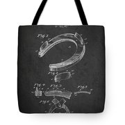 Horseshoe Patent Drawing From 1898 Tote Bag