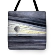 Hot Air Balloon, 1875 Tote Bag