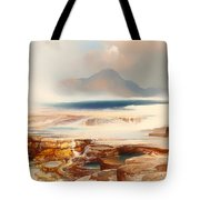 Hot Springs Of Yellowstone Tote Bag