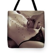 Hot Wax Foreplay Tote Bag