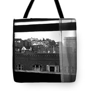 Hotel Window Butte Montana 1979 Tote Bag