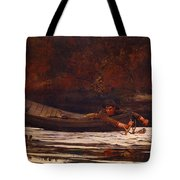 Hound And Hunter 1892 Tote Bag